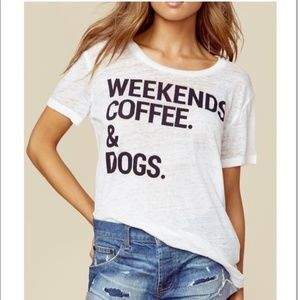 "Chaser ""Weekends, Coffee & Dogs"" Tee"